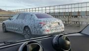 Mercedes Classe S : prototypes de développement en Belgique