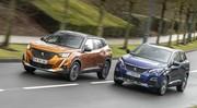 Essai comparatif : le Peugeot 2008 défie le 3008