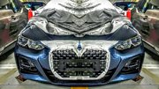 La future BMW Série 4 aperçue, presque toute nue !