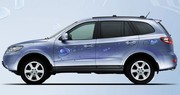 Hyundai Santa Fe Blue Hybrid: un SUV bleu-vert