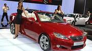 Lexus IS 250C : Le premier coupé-cabriolet de Lexus
