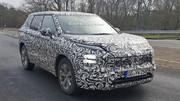Une base de Renault Koleos pour le futur Mitsubishi Outlander