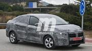 Les premières photos de la future Dacia Logan 2021