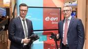 Volkswagen et E.ON développe une borne de charge ultra-rapide