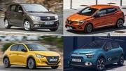Quelles sont les voitures vraiment achetées par les particuliers ?