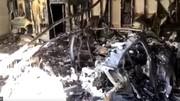 Une Porsche Taycan a brulé dans un garage en Floride