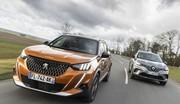 Essai Peugeot 2008 vs Renault Captur : guerre des gangs