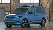 Les premières photos du nouveau Volkswagen Caddy 2020