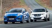 Essai comparatif : le Ford Puma défie le Peugeot 2008