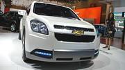 Chevrolet Orlando Concept : Véhicule familial à sept place
