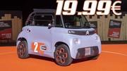 AMI, Citroën invente la voiture électrique à 19,99€/mois