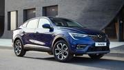 Renault Arkana (2021) : Les premières photos officielles en Corée