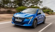 La Peugeot 208 est la Voiture de l'année 2020