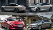 Comparatif des nouvelles DS 9, Peugeot 508 et Renault Talisman