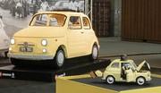 Une version LEGO pour la mythique Fiat 500