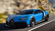 Bugatti Chiron Pur Sport : moins puissante mais plus agile