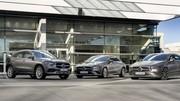 Mercedes : bientôt de l'hybride rechargeable sur GLA, CLA et CLA Shooting Brake