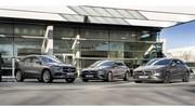 Les Mercedes GLA et CLA passent à l'hybride rechargeable