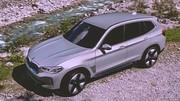BMW : première image de l'iX3 de série