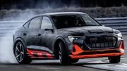 Audi e-tron S: à l'équerre