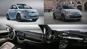 La nouvelle Fiat 500 électrique face à l'ancienne 500 hybride