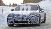 Les premières images de la future Audi électrique e-tron GT