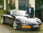 Alois Ruf fait une voiture électrique