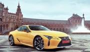 Le Lexus LC 500 s'améliore pour le millésime 2020
