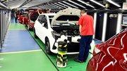 Les usines européennes de Toyota à l'arrêt