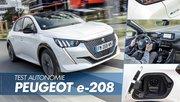 Essai Peugeot e-208 : quelle autonomie réelle pour la 208 électrique ?