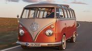 Rétrofit : Volkswagen s'y essaie avec un minibus T1