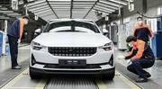 La production de la berline électrique Polestar 2 démarre en Chine