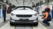 Polestar 2 : la production commence en Chine