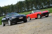 Dossier Roadster : Mazda MX5 vs MG Midget 1977