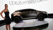 Lexus concept LF-Xh : Le prochain SUV hybride de la marque
