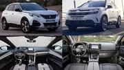 Comparatif des Peugeot 3008 Hybrid4 et Citroën C5 Aicross Hybrid