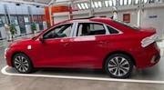 Les premières images de la nouvelle Audi A3 Berline