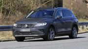 Le VW Tiguan prépare son nouveau maquillage