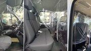 Coronavirus : le carrossier Gruau imagine un film de protection pour les véhicules