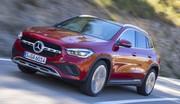 Mercedes GLA (2020) : les images en action du nouveau SUV à l'étoile