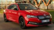 Essai et vraies mesures de la nouvelle Skoda Superb hybride rechargeable