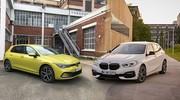 Comparatif - Volkswagen Golf 8 vs BMW Série 1 : bousculer l'ordre établi