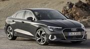 Les photos et infos officielles sur la nouvelle Audi A3 Berline