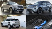 Range Rover Evoque et Discovery Sport hybrides rechargeables