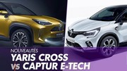 Toyota Yaris Cross vs Renault Captur E-Tech : SUV et hybride