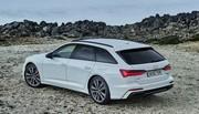 Audi A6 break 55 TFSI e : l'hybride rechargeable en Avant