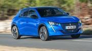 Peugeot e 208 avec petite batterie : pour quels résultats ?