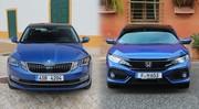 Comparatif Honda Civic vs Skoda Octavia : atypiques