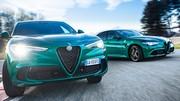 Alfa Romeo Giulia et Stelvio Quadrifoglio : peaufinées, à leur tour !