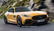 Notre première image de la future Mercedes AMG-GT 2022